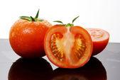 Rajčata zelenina — Stock fotografie