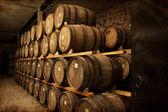 Wine barrels — Foto de Stock