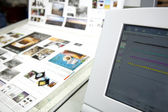 Print production  — Stock Photo