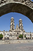 Tourist monuments of the city of Guadalajara — Stock Photo