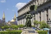 Turist anıtlar guadalajara şehir — Stok fotoğraf