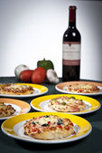 Pizzas — Stock Photo