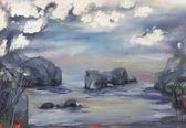 Duże skały — Zdjęcie stockowe