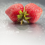 morango, fruta, vermelho, macro, frescor, molhado, studio, gostoso — Fotografia Stock  #46044211
