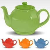чайник — Cтоковый вектор