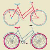 Retro Bicycle — Stock Vector