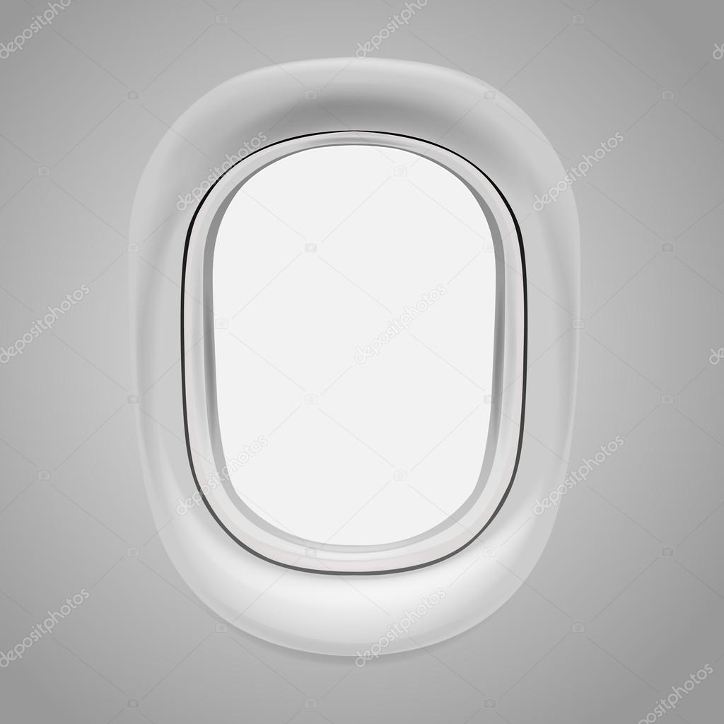 飞机窗口 — 图库矢量图像08