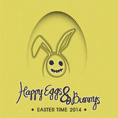 Easter time 2014 — Vector de stock