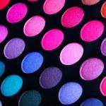 Colorful eye shadows palette — Stock Photo #46241993