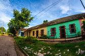 Ciudades y calles cubanas. — Foto de Stock