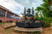 Küba trenler — Stok fotoğraf