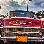 Cuba Old Car — Stock Photo