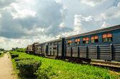 Kubánské vlaky — Stock fotografie