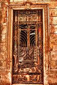 Porta su strade cubane — Foto Stock