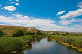 River Aidar in Ukraine — Stock Photo