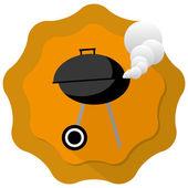 Churrasco gril — Vetorial Stock