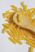 Rotini Pasta background — Stock fotografie