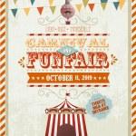 Fun fair template — Stock Vector #44895061