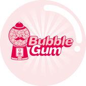 Vintage bubble gum — Stock Vector