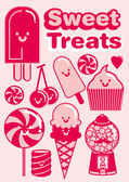 Sweet treats — Stock Vector