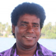 Smiling ceylonese man. Portrait. — Stock Photo #48173907