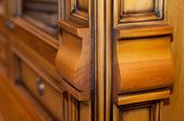 Armadio in legno — Foto Stock