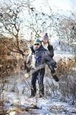 Diversão de inverno — Foto Stock