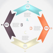 Vector infographics — Stock Vector