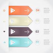 Vector infographics — Stockvector