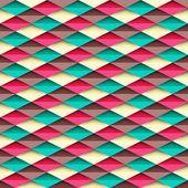Rhombus-textur. nahtlose geometrischen vektor hintergrundmuster — Stockvektor