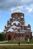 Svijazhsk. St. John the Baptist Monastery, Cathedral of Our Lady of Joy of All Who Sorrow — Stock Photo