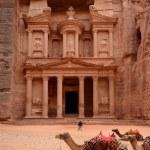 Jordan, Petra. Treasure Trove (Treasury) — Stock Photo #46634749