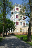 Gomel Palace and Park Ensemble, Tower Rumyantsev-Paskevich Palac — Stock Photo