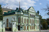 Kazan, tataristan cumhuriyeti müslümanların manevi yönetim binası i̇vanoviç lobaçevski sokak 6 — Stok fotoğraf