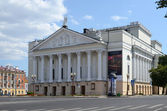 Kazan. Tatar State Academic Opera and Ballet Theatre M.Jalil — Stock Photo
