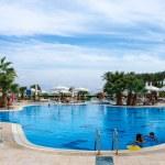 Постер, плакат: Egypt Intercontinental Taba Heights Resort Relax by the pool