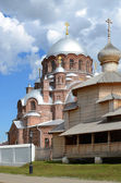 Svijazhsk. Cathedral of Our Lady of All the Afflicted and Trinit — Stock Photo