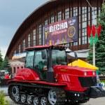 Постер, плакат: Crawler tractor Belarus 2103