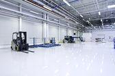 Bright warehouse — Stock Photo