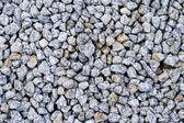 Bílá ostré kameny a skály jak pro budování a hrob cove — Stock fotografie