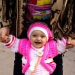 Portrait of a beautiful little girl (child) — Stock Photo #50996597
