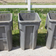 Three Trash Cans — Stock Photo #45176861