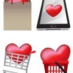 Creative Heart Icons IlIustration — Stock Vector #44720339