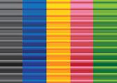 Colorful texture metal designs — Stock Vector