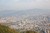 Top view of the city of Caracas. — Foto Stock