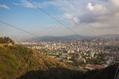 Top view of the city of Caracas. — Stok fotoğraf