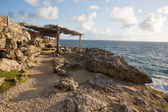 Cape north point on the island of Barbados — Stock Photo