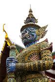 The Giant Guard in Wat Phra Keaw — Stock Photo
