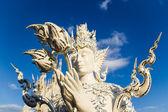 Humen statue at Wat Rong Khun — Stock Photo