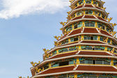 Wat Hyua pla kang pagoda — Stock Photo